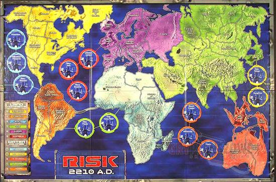 risk 2210 ad Game map