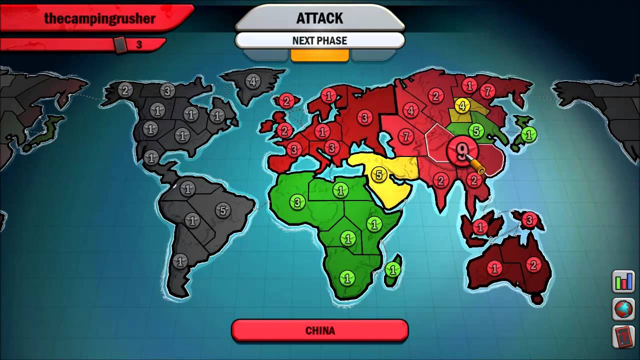 Risk Factions PC game maps