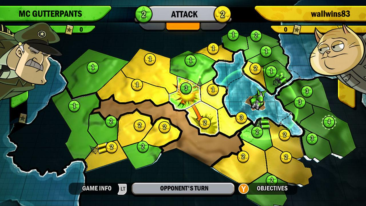 Risk Factions xbox 360 game