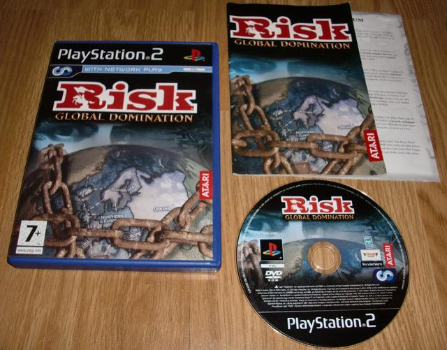 Risk Global Domination PS2 Game CD