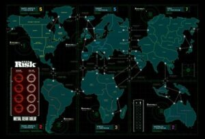 RISK Metal Gear Solid board