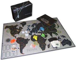 RISK Black Ops board game set