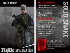 Risk Solid Snake game