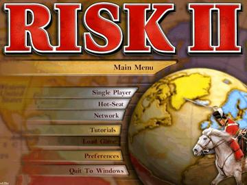 Risk 2 Risk II Video Game