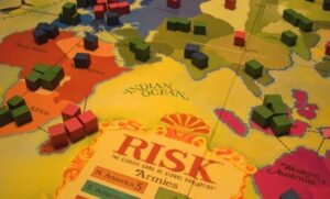 risk conquer the world game Map