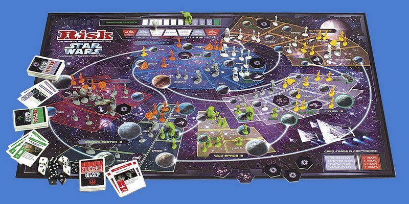 risk star wars original trilogy board