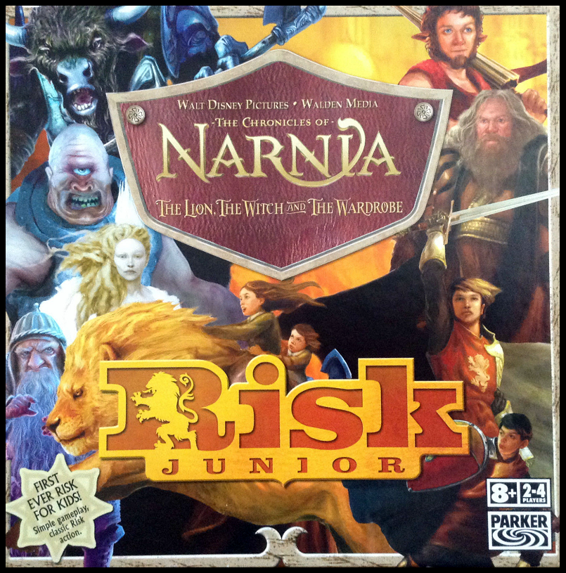 Risk Junior: Narnia Front Of Box