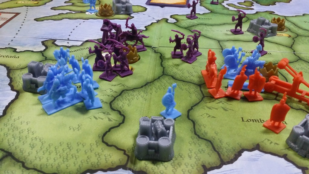 Risk Europe How To Play Risk Europe Board Game