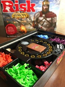 Risk: Europe Game Contents