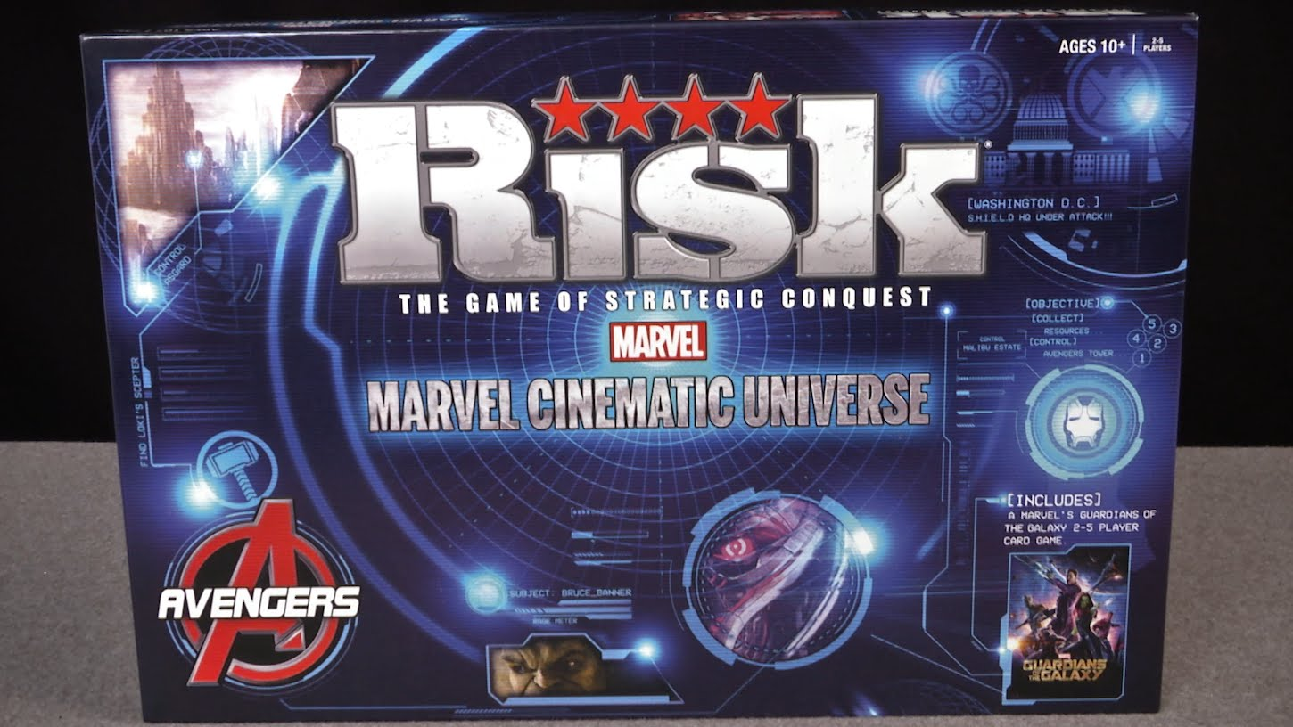 Marvel Cinematic Universe RISK Game - The Game Of Strategic